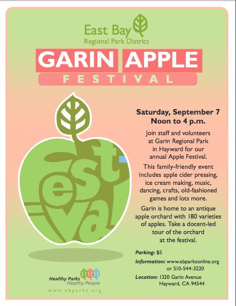 Garin Apple Fest '13 poster